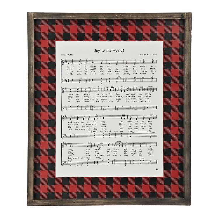 It is a graphic of Unusual Joy to the World Lyrics Printable