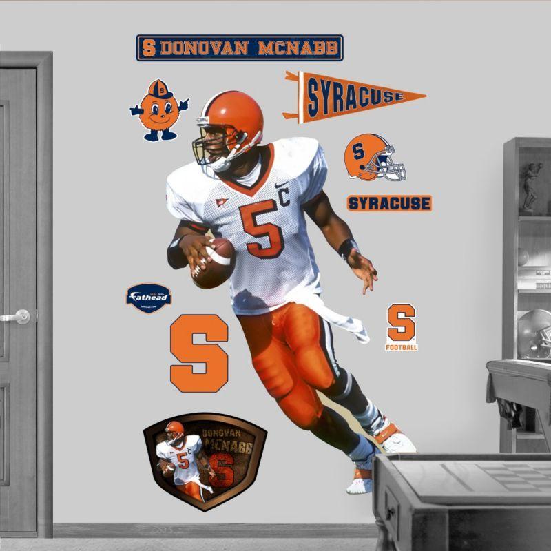 Fathead Donovan McNabb Syracuse Wall Graphic, Team Wall