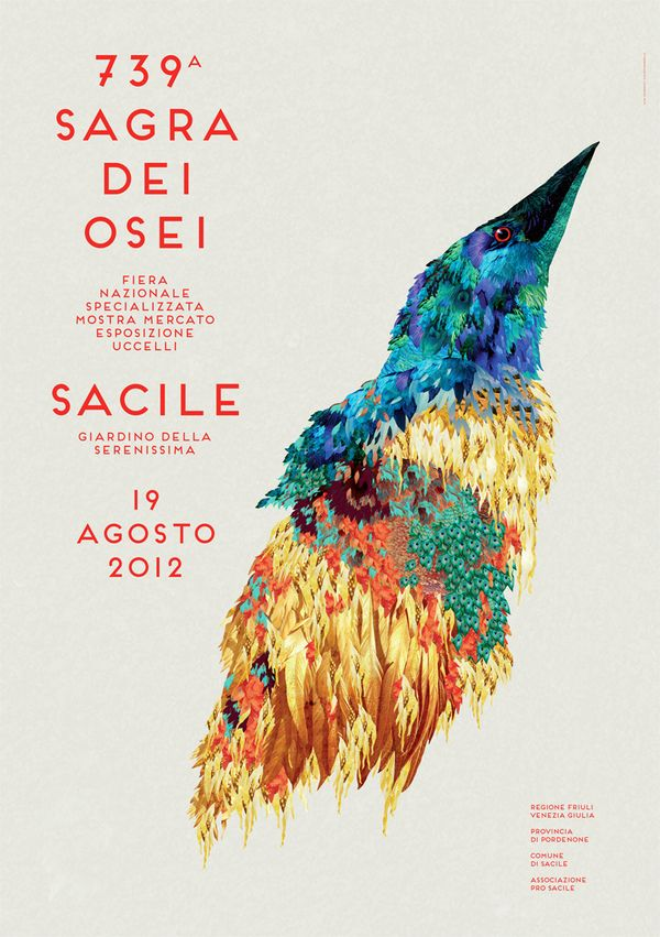Sagra dei Osei by Elisa Vendramin, via Behance