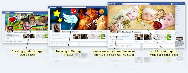 LOVE LOVE LOVE this facebook cover creator (some free choices too) I