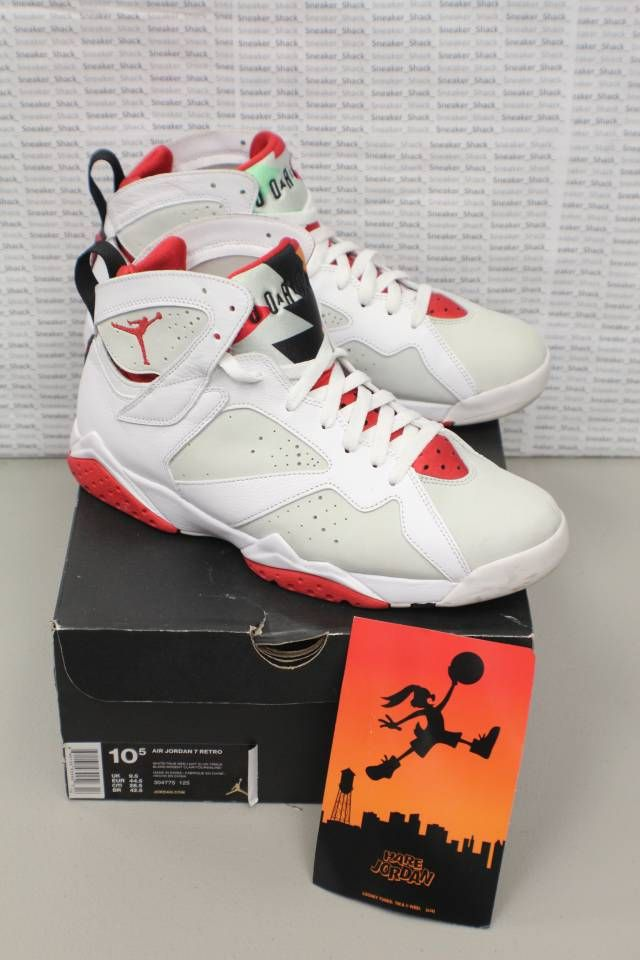competitive price bf120 b0615 Nike Air Jordan Retro 7 Hare Bugs Bunny Sz 10.5 304775-125   Kixify  Marketplace