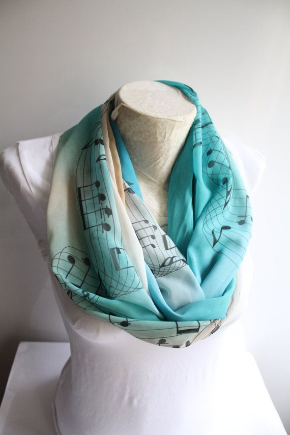 music scarf musician gift music festival infinity scarf music notes hamilton musical music. Black Bedroom Furniture Sets. Home Design Ideas