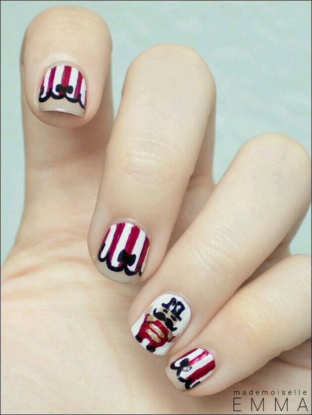 Nail Art Nail Art Fun Tmm Pinterest