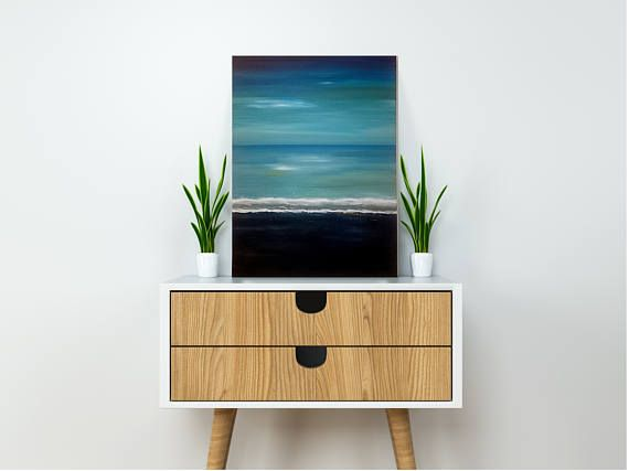 Check out this item in my Etsy shop https://www.etsy.com/listing/510580965/ocean-shore-paintingseascape-wall