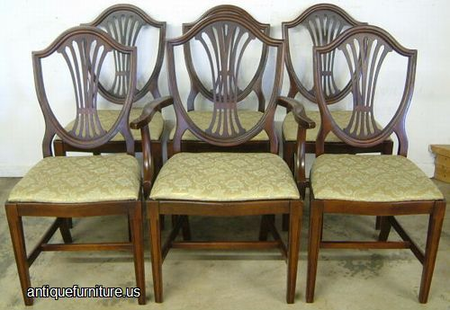 Antique Shield Back Chairs - Antique Shield Back Chairs Antique Furniture