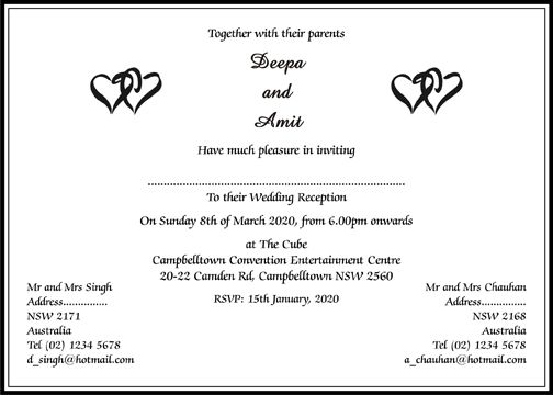 Wedding Card Invitation Messages: Hindu Wedding Invitation Wordings