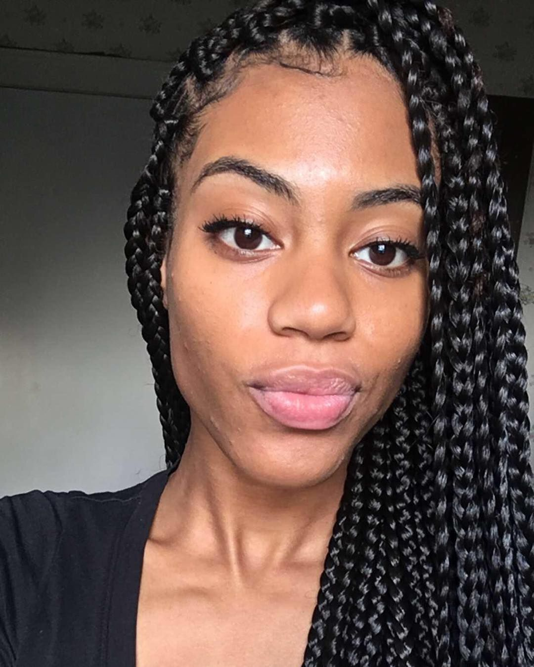45 Stunning Medium Box Braids Experiment With One Of These Fine