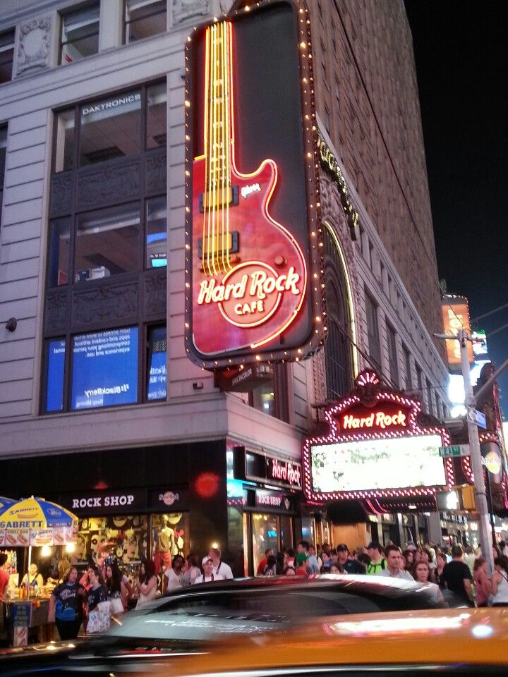 Hard Rock Cafe New York Cafe New York Hard Rock Cafe Nyc Hard Rock Cafe