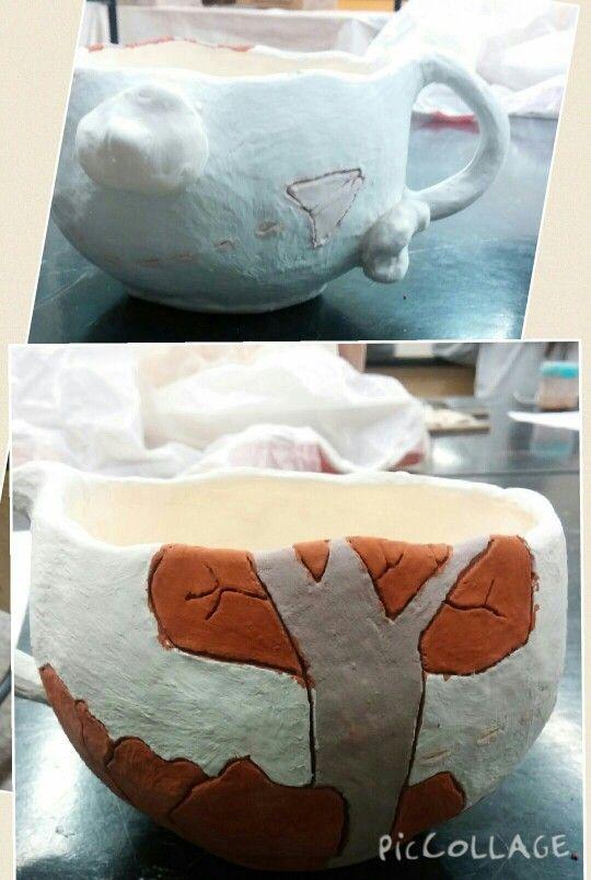 Mug pinch pot