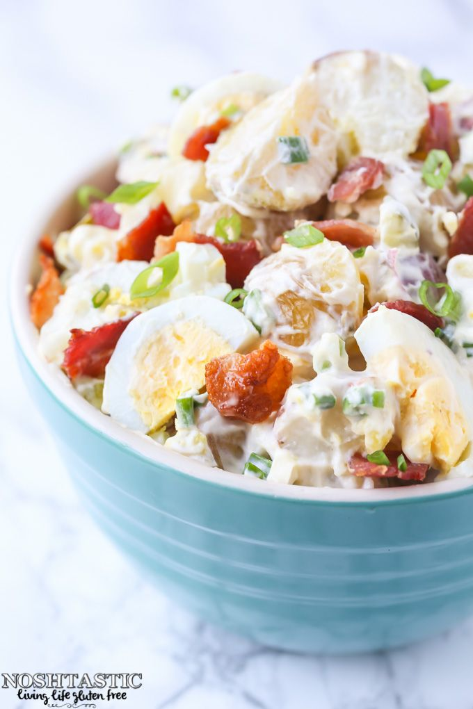 You Guys This Is The Best Potato Salad With Bacon And Egg Recipe