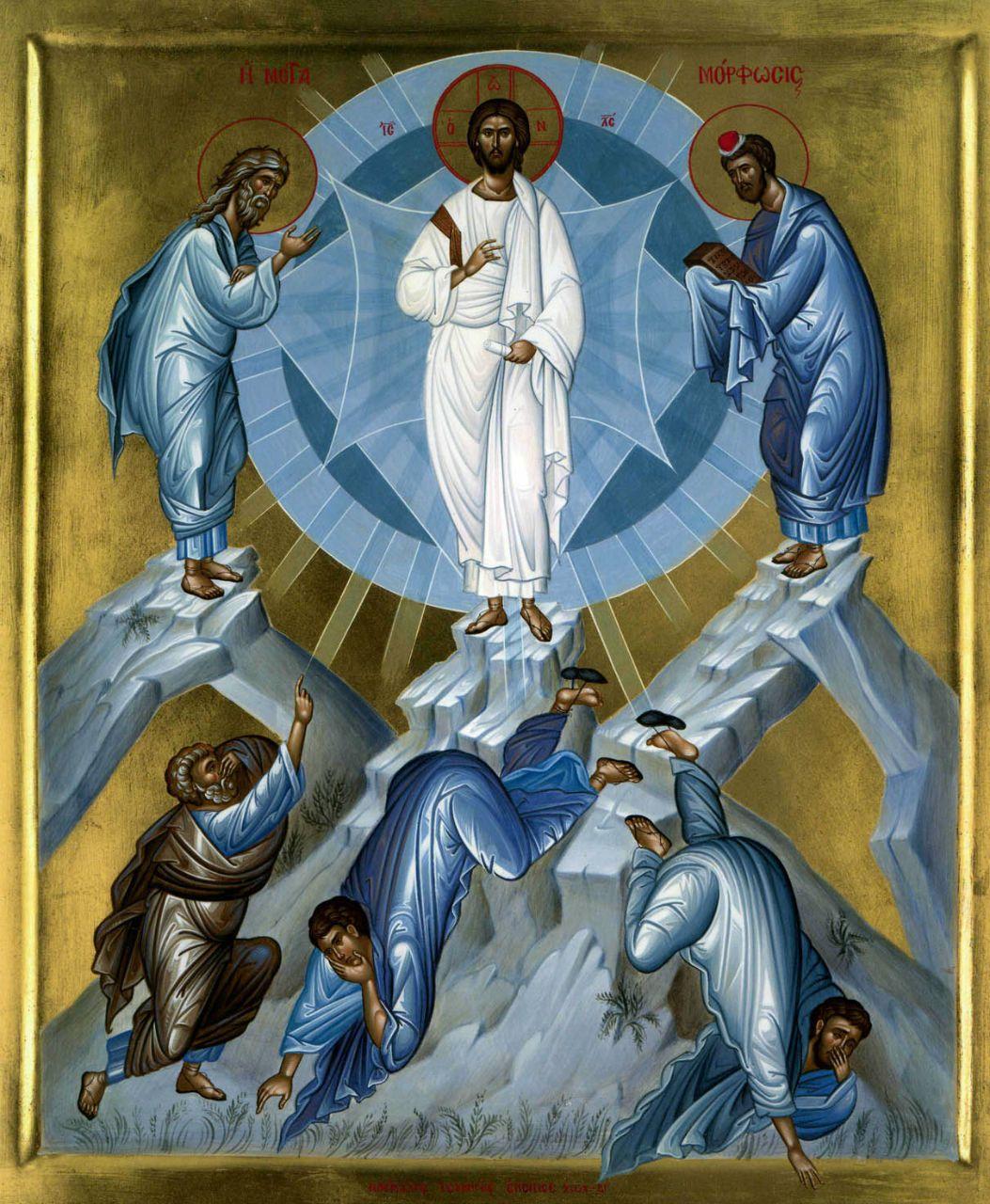 Transfiguration of Christ / Μεταμόρφωση του Σωτήρος | Иисус...