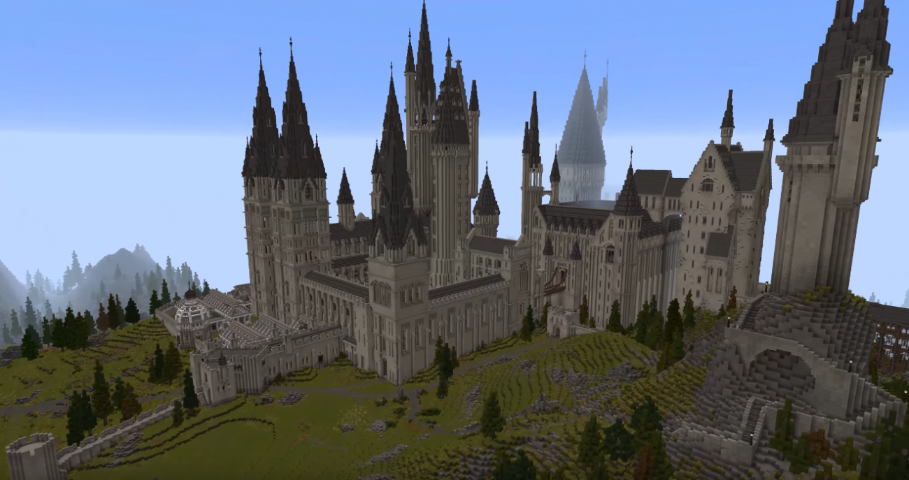 There S Been An Entirely New Harry Potter Game Created In Minecraft Harry Potter Minecraft Hogwarts Minecraft Minecraft