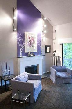 30 inspiring accent wall ideas to change an area modern interiors rh pinterest com