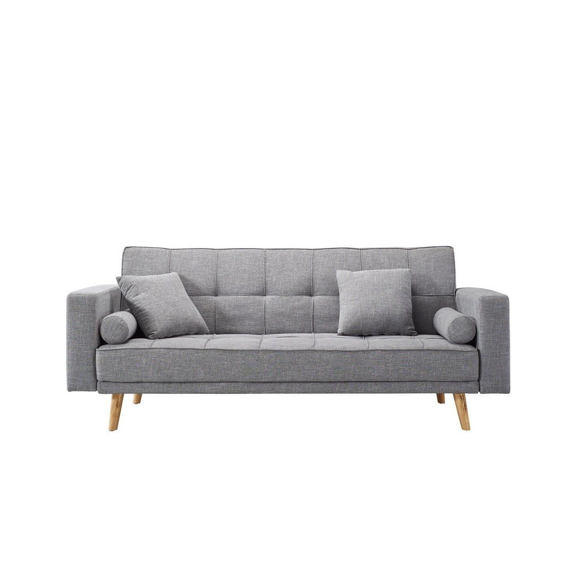 Luca Home Alex Scandinavian Style Sofa Bed, Grey | Products ...