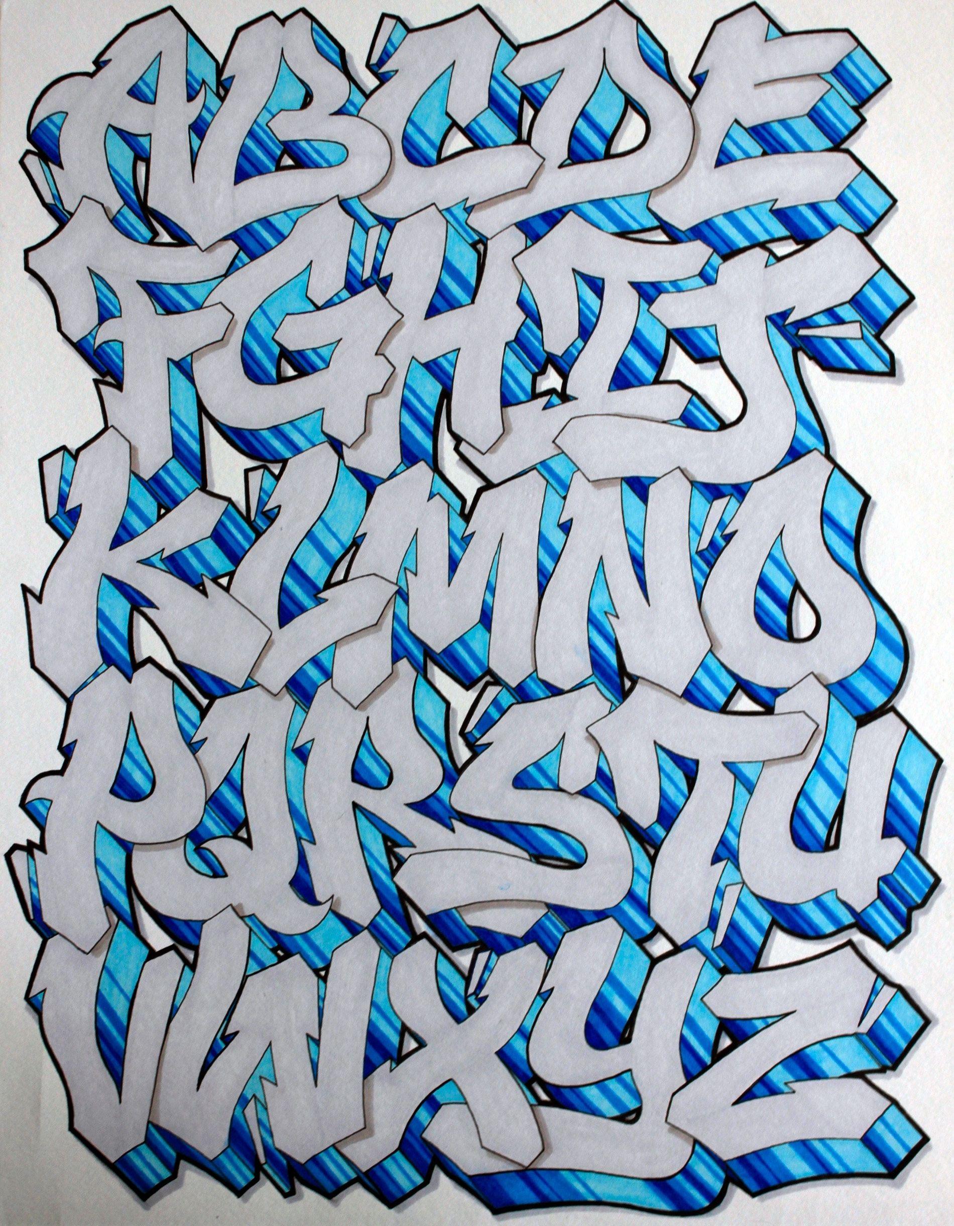 Graffiti tegninger alfabet mi graffiti letters graffiti - Grafiti alpabet ...