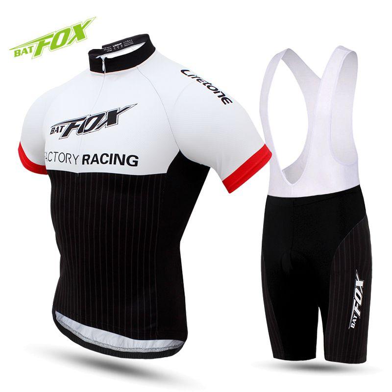 Men Cycling Jersey Bib Short Sleeve Sets 2017 Summer Cycling ... de6d60a39