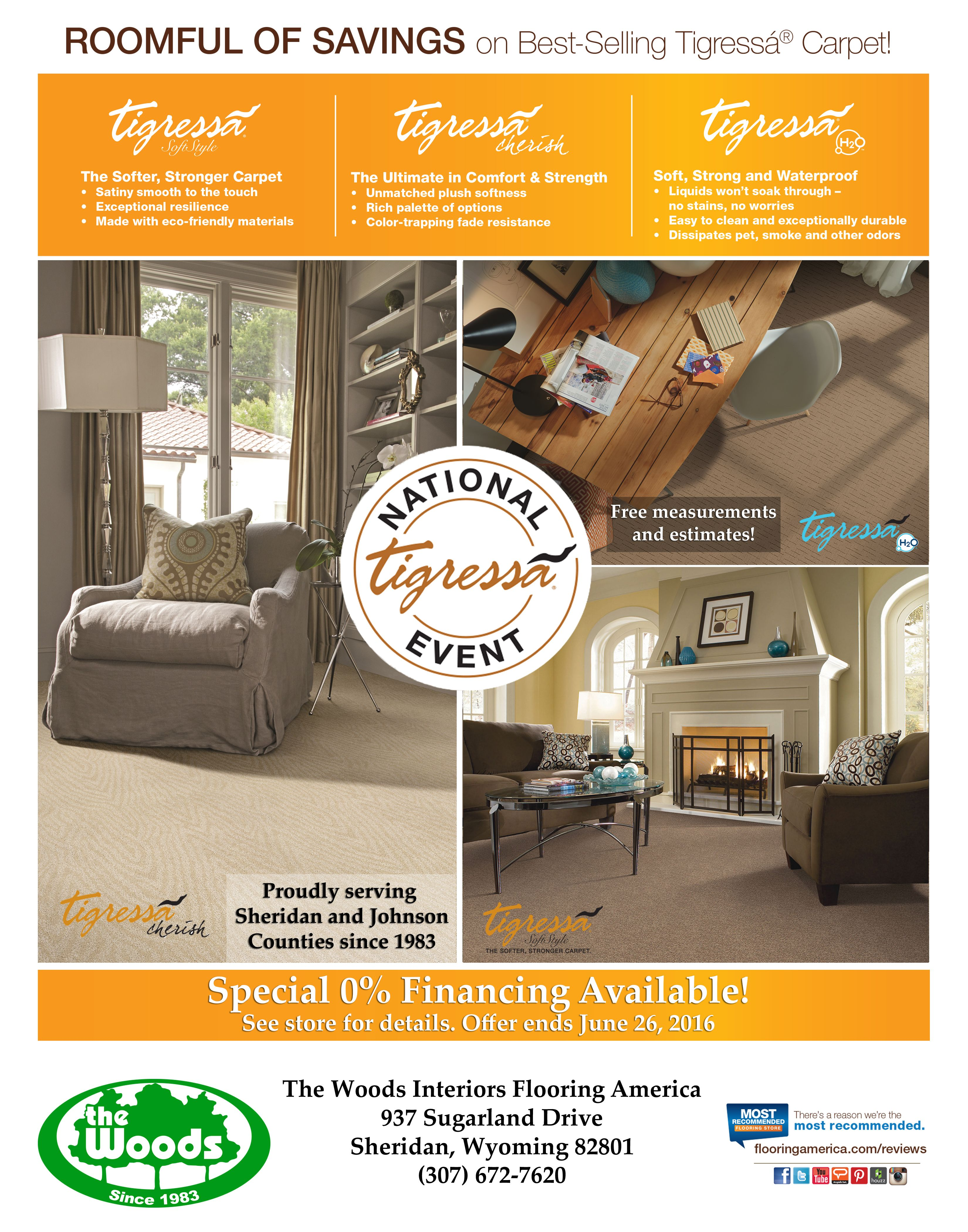 Looking To Update The Interior Of Your Home The Woods Interiors Is Currently Offering The Deal Of The Season On Select Tig Money Saver Wood Interiors Flooring