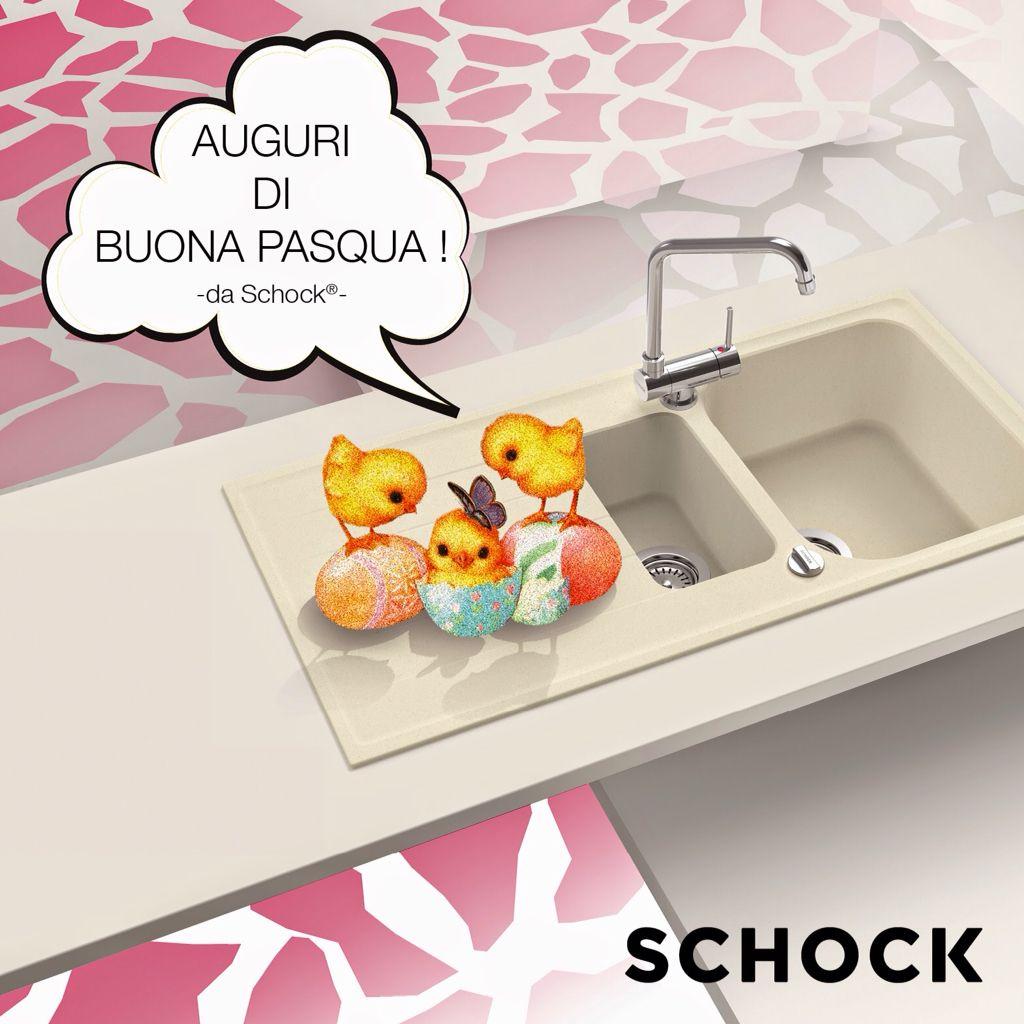 Auguri di buona Pasqua da Schock !  #pasqua #lavelli #cucina Www.schock.it