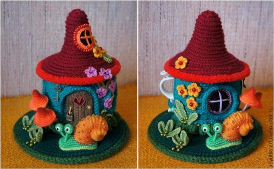 Fairy House Teapot Cosy Pattern Is Gorgeous | Teteras, Patrones y Tejido