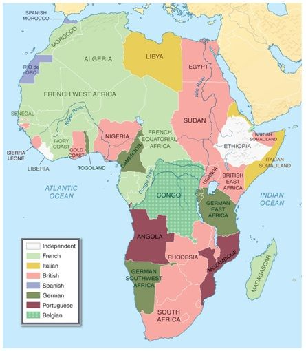 map of africa 1880 1914 The Scramble For Africa 1880 1914 French West Africa West map of africa 1880 1914