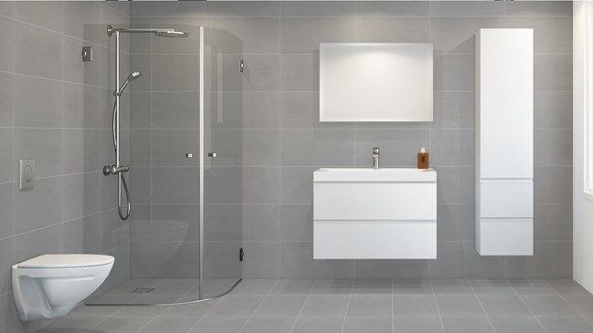 Trav Antrasitt Rustikk 30x60 Bad Pinterest - badezimmer selber bauen