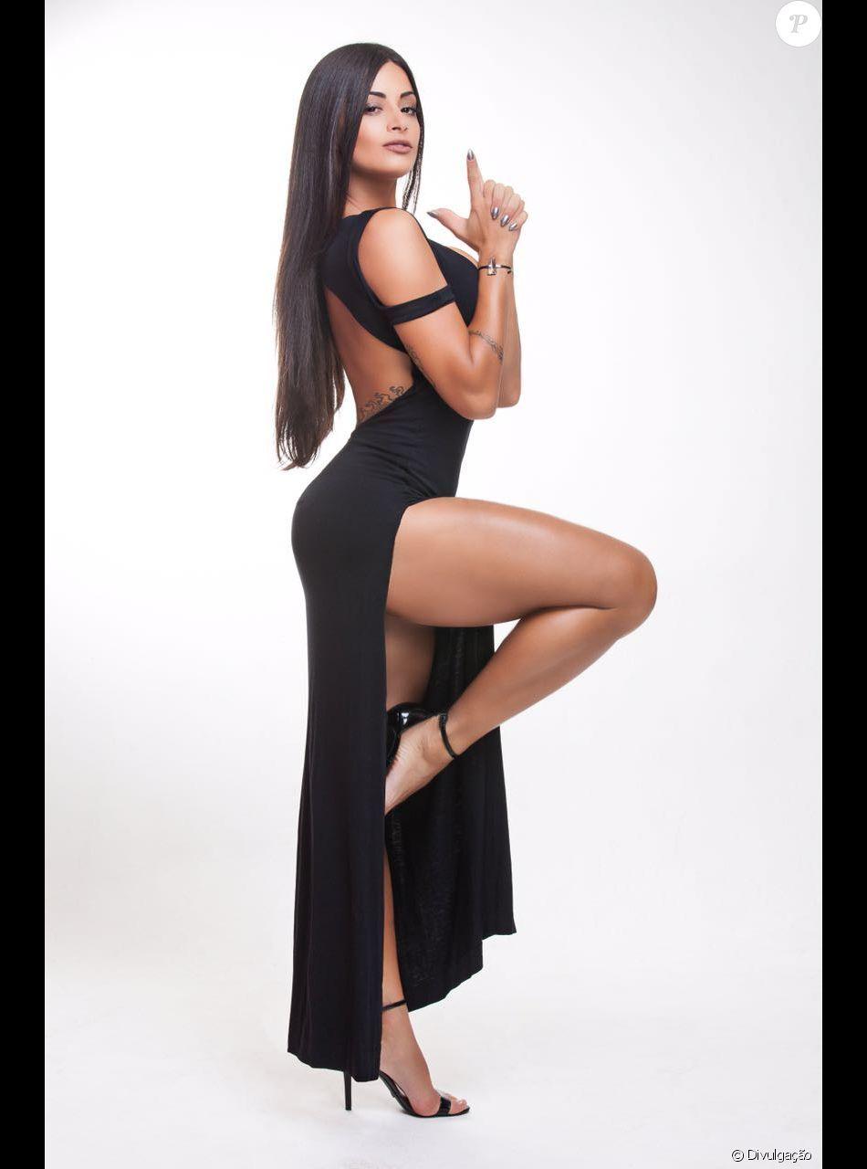Aline Riscado Playboy aline riscado   brun et prune