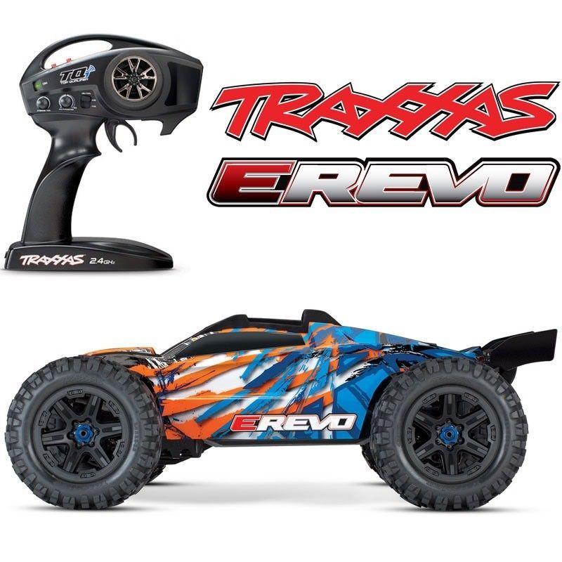 Great Gift New Traxxas E Revo 2 0 Vxl Brushless Rtr Rc 4wd Monster Truck Orange W Tsm Monster Trucks For Sale Monster Trucks Traxxas
