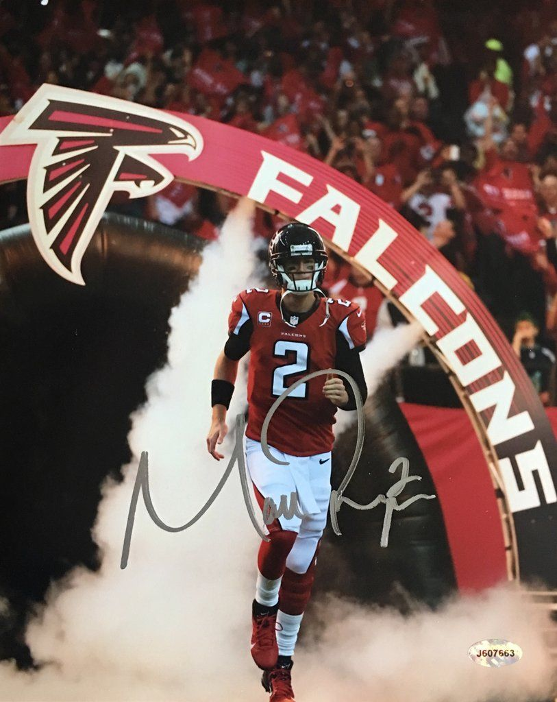 Matt Ryan Atlanta Falcons Signed 8x10 Photo Miller Memorabilia Atlanta Falcons Football Atlanta Falcons Signs Atlanta Falcons