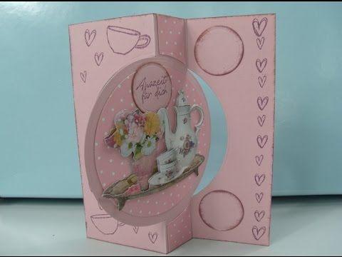 Crealies Create A Card stans no. 13 / Crealies Create A Card die no. 13 - YouTube