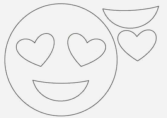 Gulen Yuz Kalibi Emoji Yastik Boyama Sayfalari Desenler