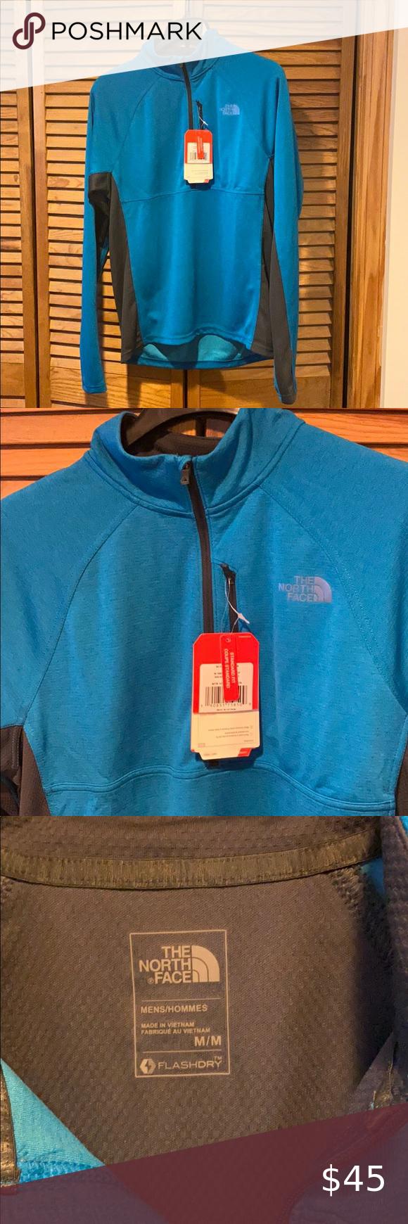 Men/'s The North Face Standard Fit Coupe Standard Quarter Zip Jacket