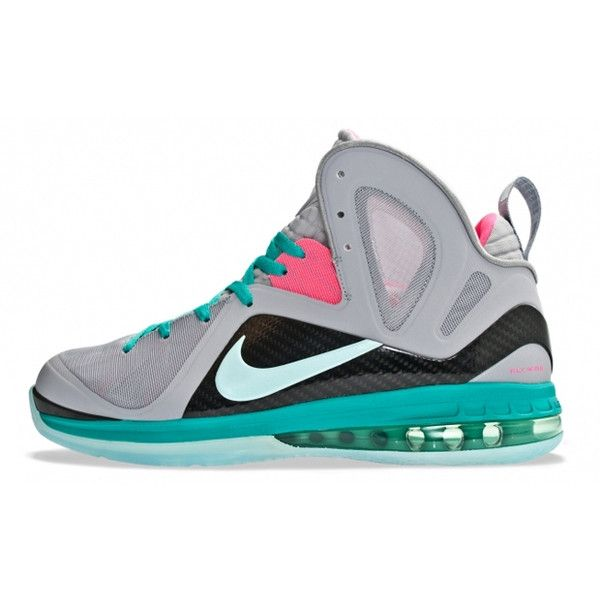 """Nike LeBron 9 P.S. Elite """"South Beach"""" Releases in Europe ❤ liked on  Polyvore"""