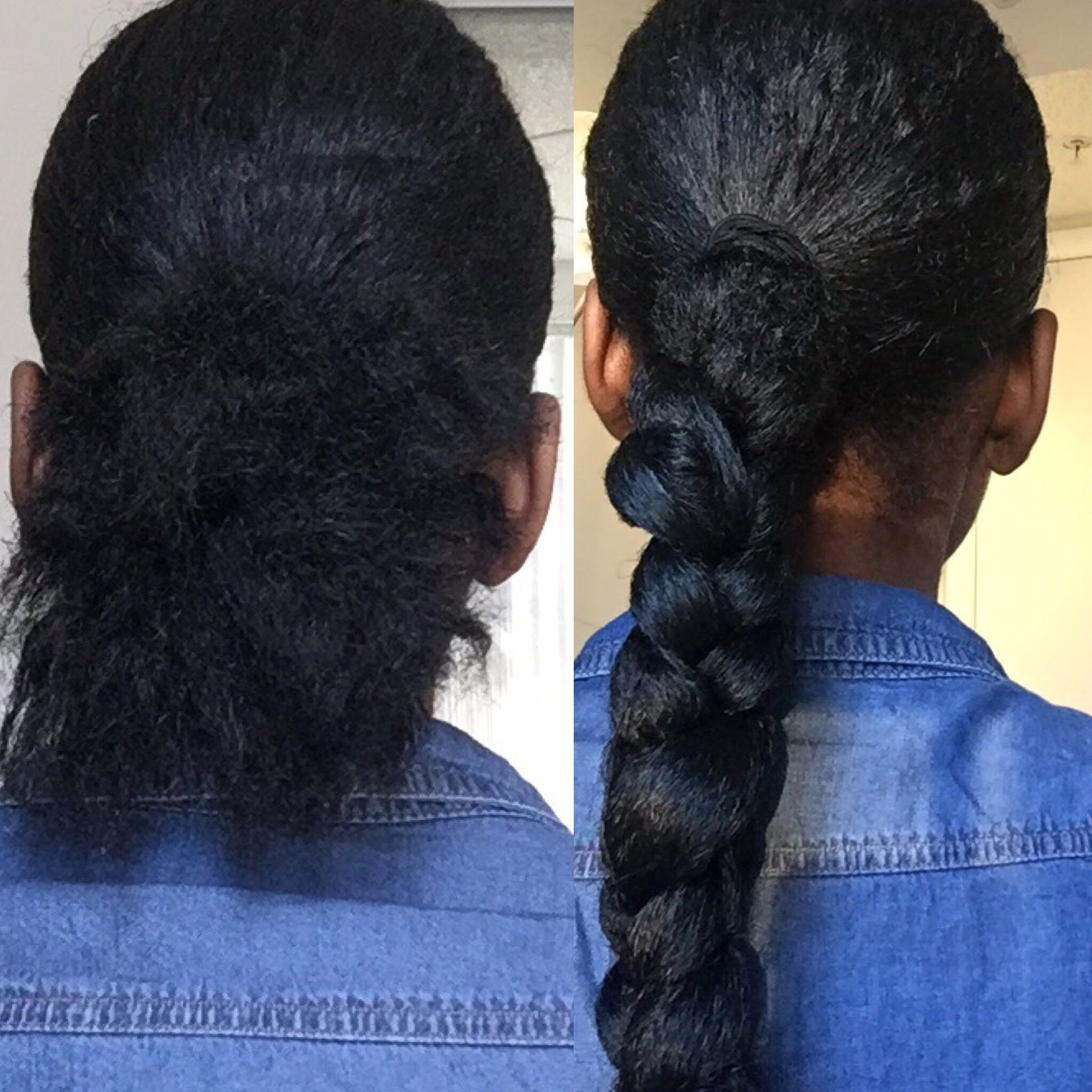 THE PERFECT LOW PONYTAIL BRAID WITH BRAIDING HAIR (YOU ...