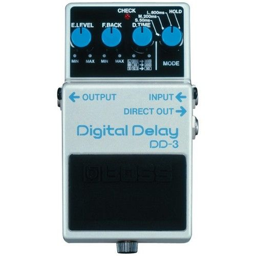 boss dd 3 digital delay guitar effects pedal boss pedals guitar effects pedals boss pedals. Black Bedroom Furniture Sets. Home Design Ideas