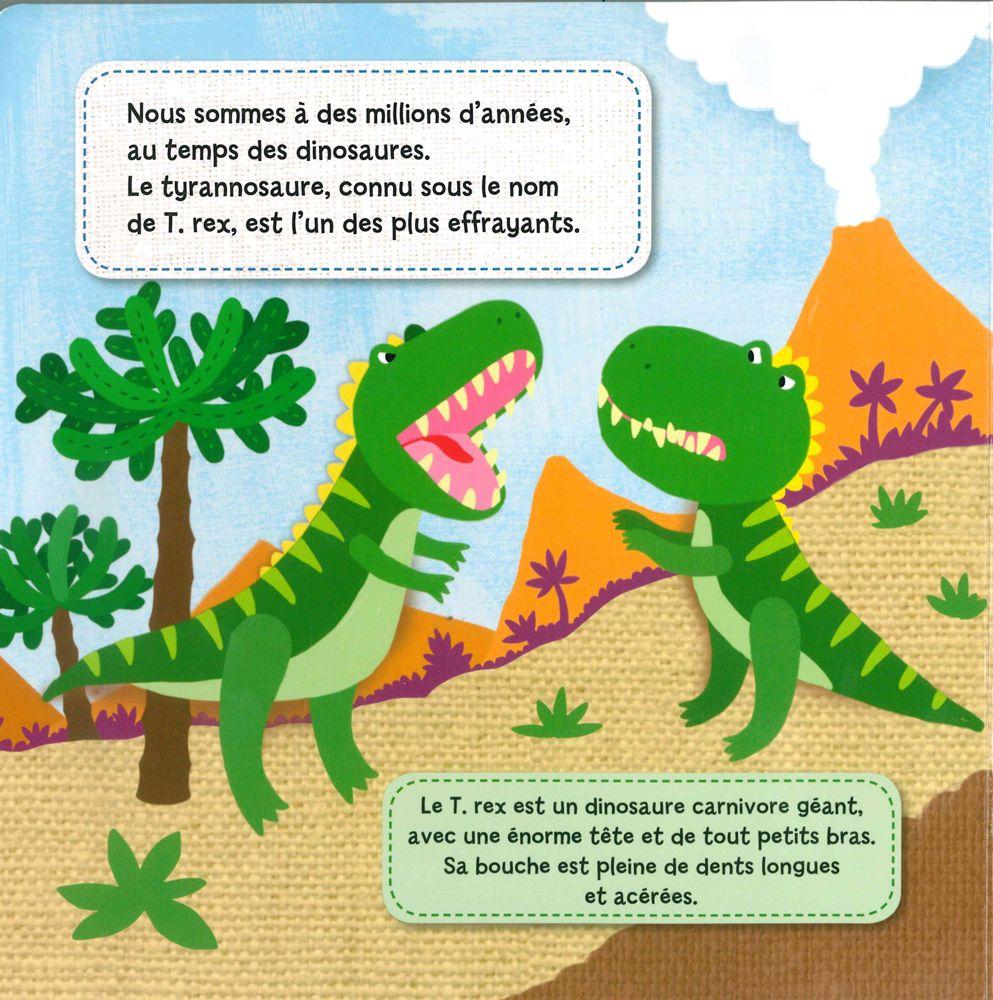 Cree Et Joue Les Dinosaures Enfants Dinosaure Le