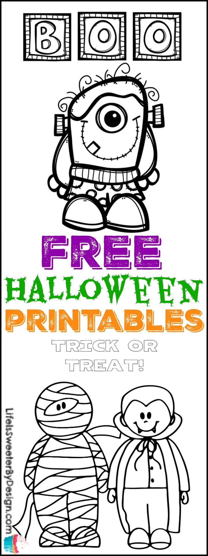 Free halloween printables more free halloween printables ideas