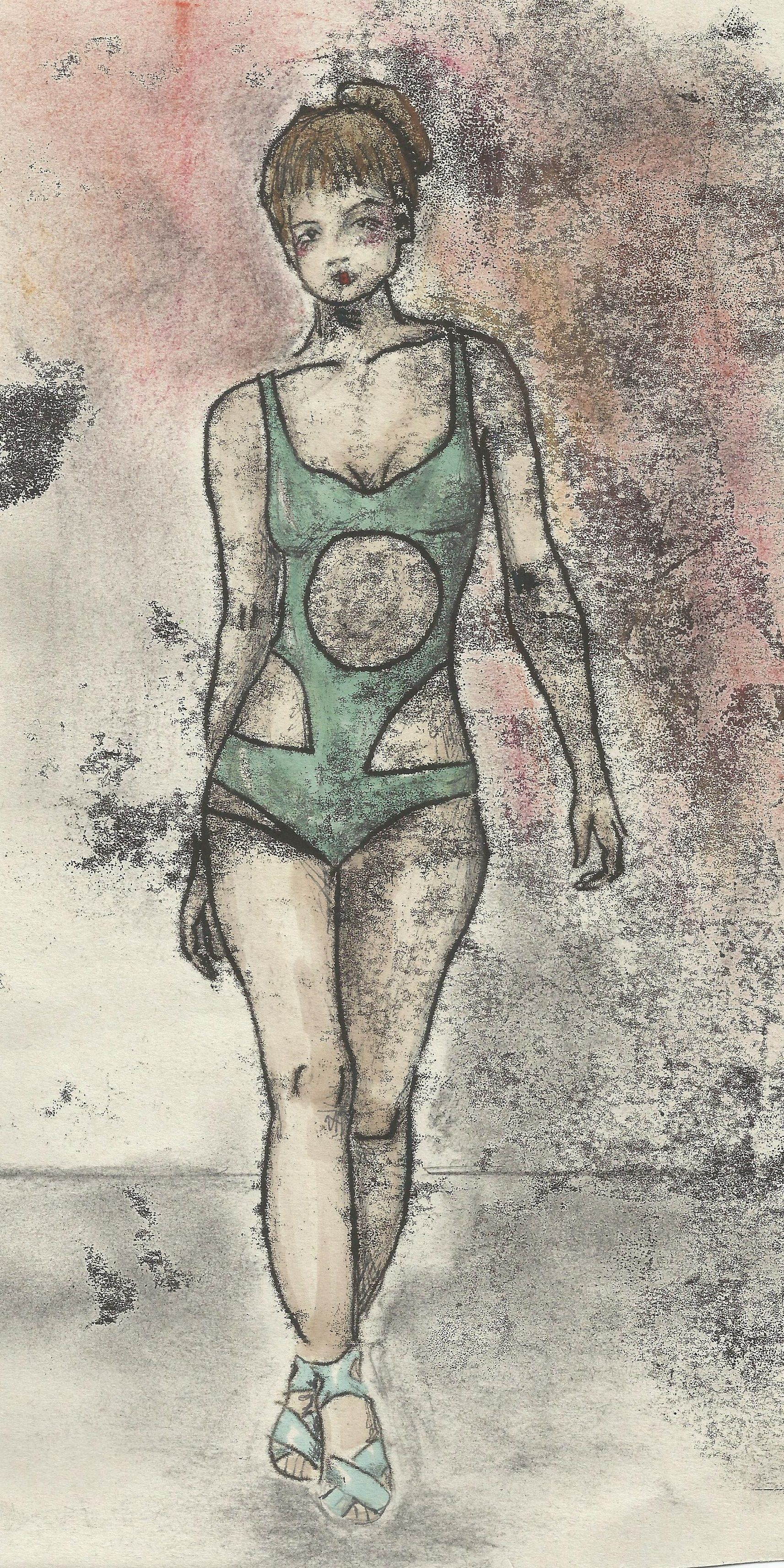 Alternative design for Mariette in Blade Runner 2049 as part