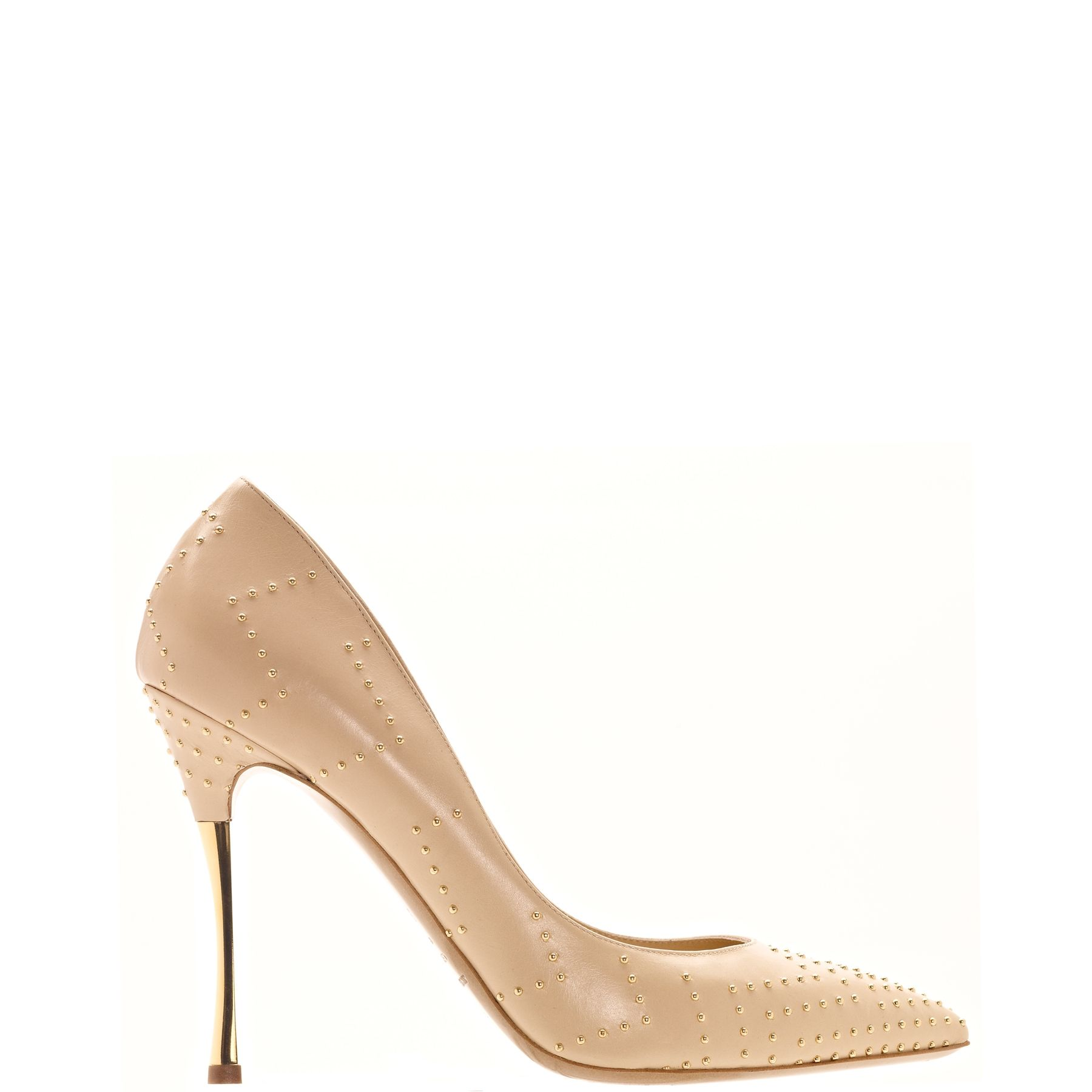 The A to Z of Shoe Shopping: K is for Nicholas Kirkwood  - luscious studded detailed heel, what a perfect shape, this pin - fall 2013