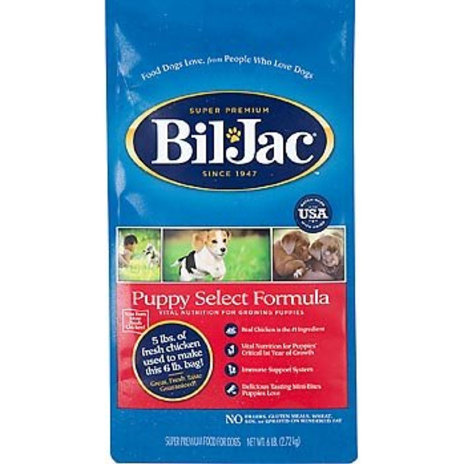 BilJac Puppy Select Formula, 6Pound If you want to