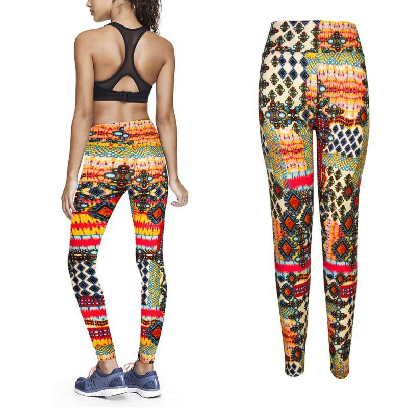 65568d009f108 Bold Patterned Sports Leggings | Sport Clothes | Sports leggings ...