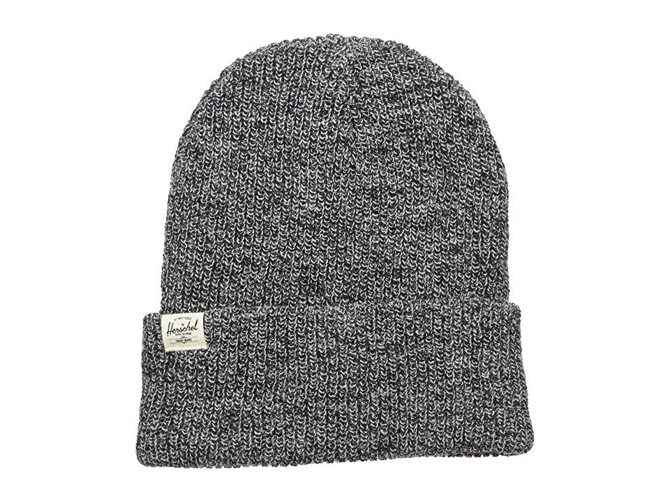Herschel Supply Co Quartz Heather Black Beanies Take on a classic look with a new approach with the durable and stylish Herschel Supply Co Quartz beanie Relaxed fitting r...