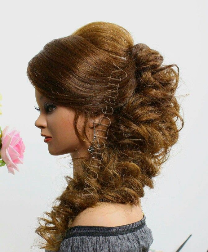 Pin By Neha Verma On Womenbeauty Prom Hairstyles For Long Hair Long Hair Styles Medium Curly Hair Styles