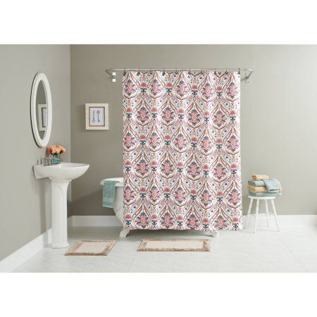 Better Homes And Gardens Jeweled Paisley 15 Piece Bath In A Bag Set Shower Curtain Rugs Included Multicolor Products
