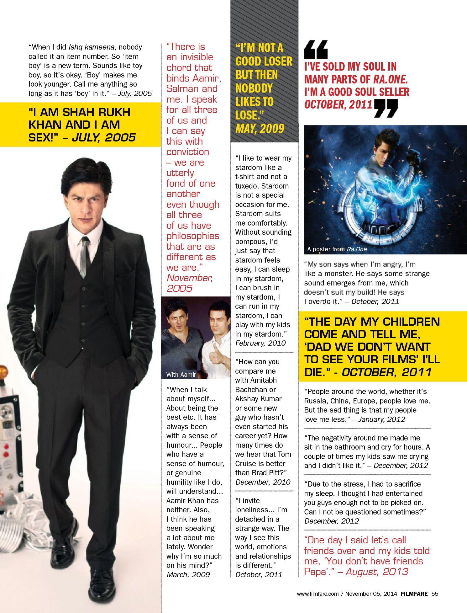 20 Shah Rukh Khan in Magazines ideas   khan, shahrukh khan, movie ...