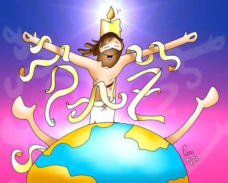 Paz Para El Mundo: La Paz Del Resucitado Para El Mundo 20150412
