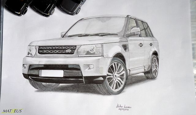 Drawings Of Range Rover Sport Google Search Arts And