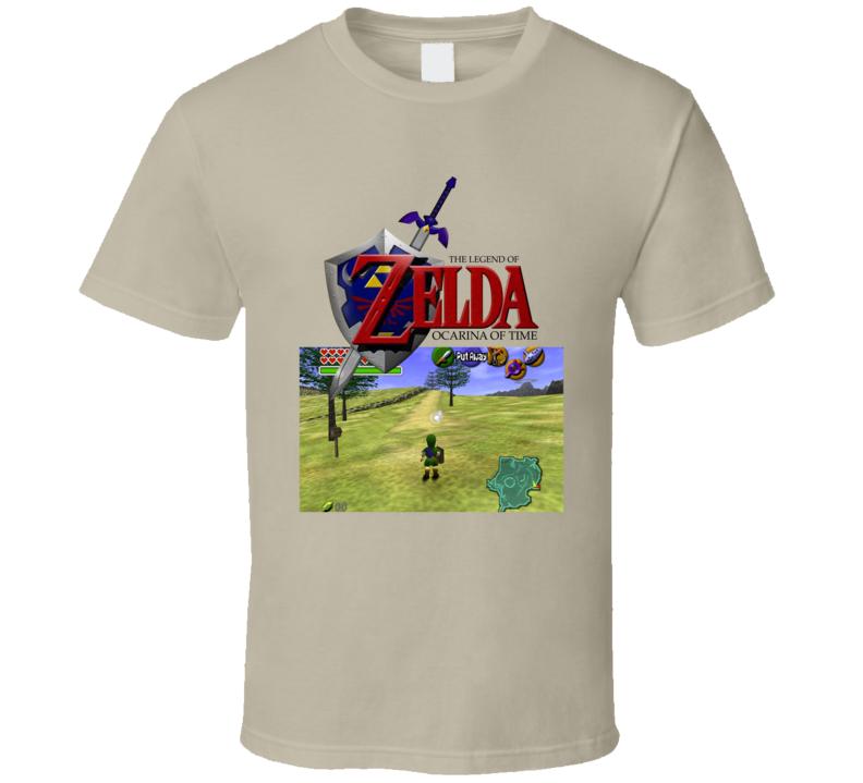 The Legend Of Zelda Ocarina Of Time 1998 Best Video Games Of All Time T Shirt Video Game T Shirts Time T Ocarina Of Time