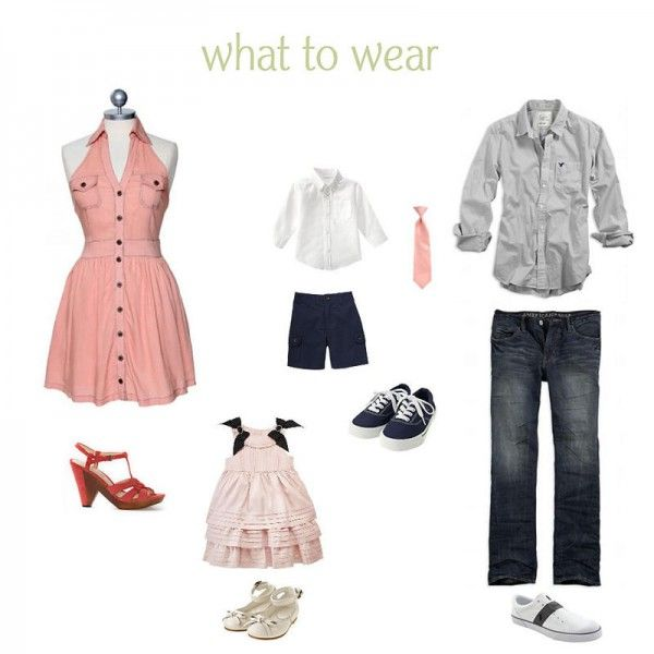 What To Wear  How To Dress For Family Pictures