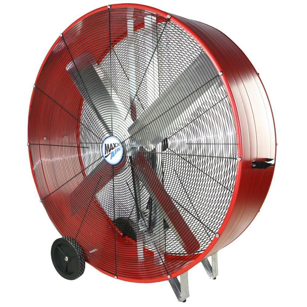 MaxxAir 48 in. 2-Speed Drum Fan