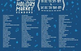 Holiday Market Vendor List!